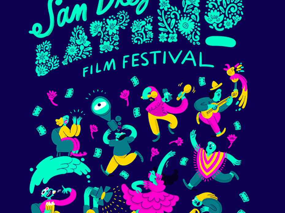 27th San Diego Latino Film Festival International Poster Competition 1
