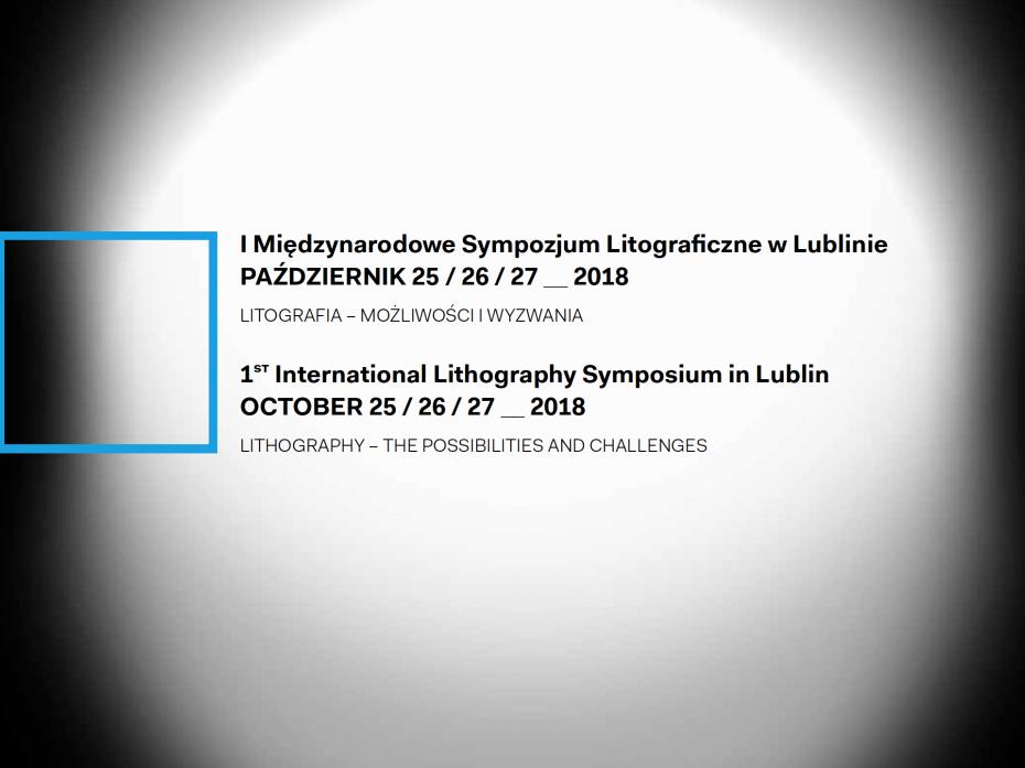 1. Międzynarodowe Sympozjum Litograficzne 1