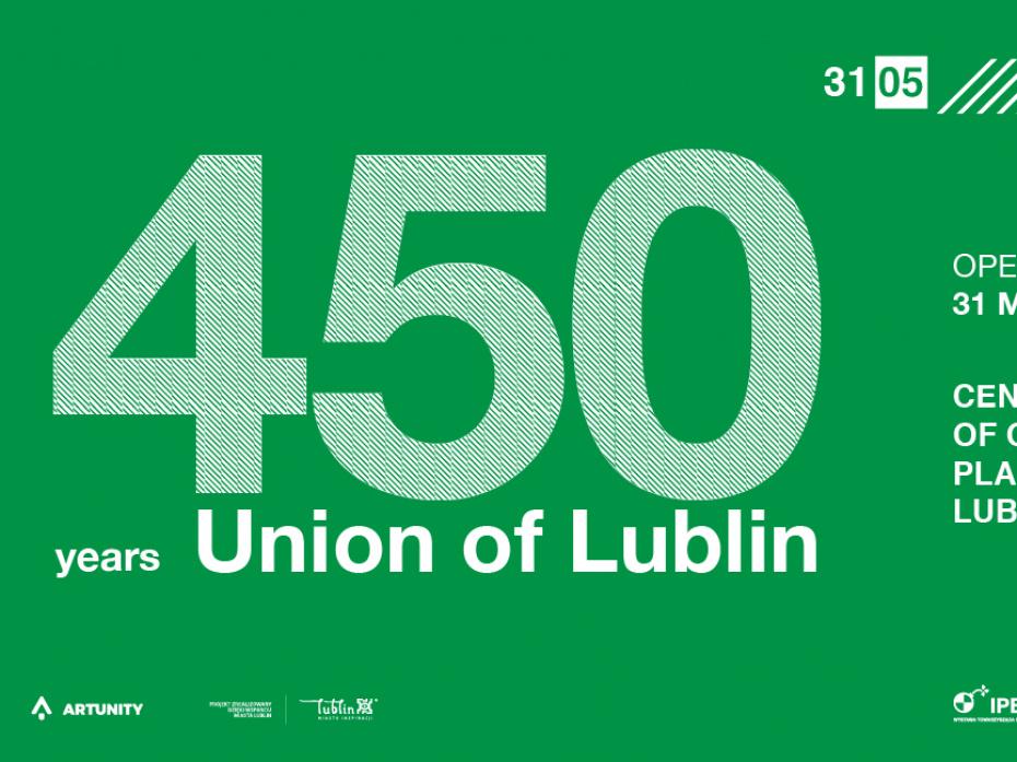 International Poster Biennale Lublin 2019 – 450 years Union of Lublin 1
