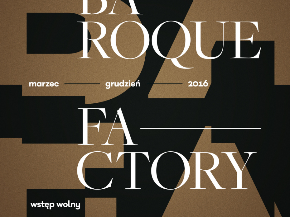 Baroque Factory Festival poster 1
