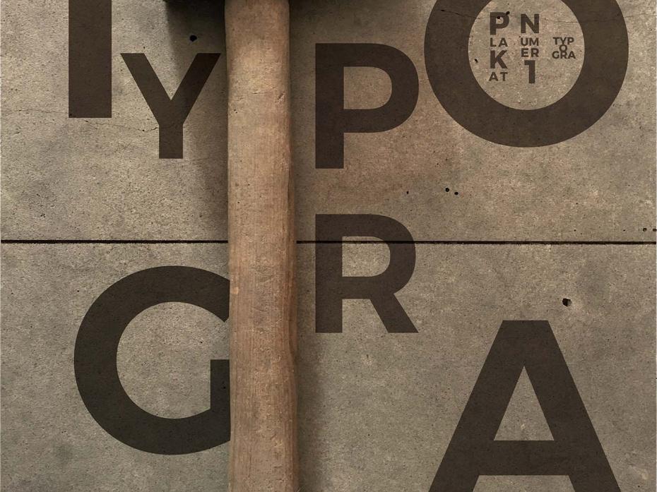 Typographic posters 1