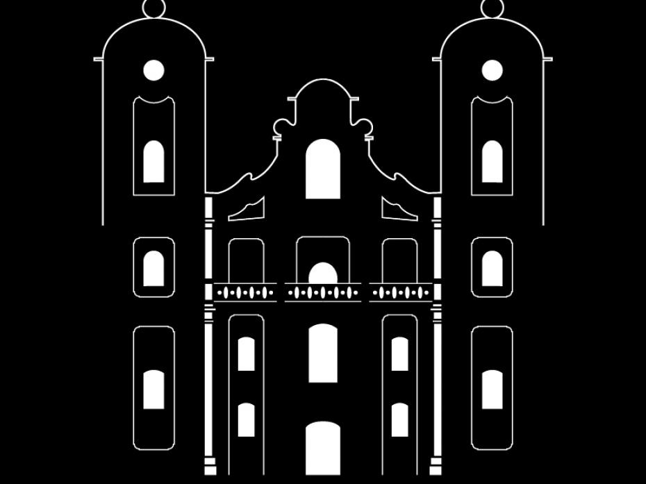 """Logotyp Architektura XVIII W. """"Kościół w Horodence"""" 1"""