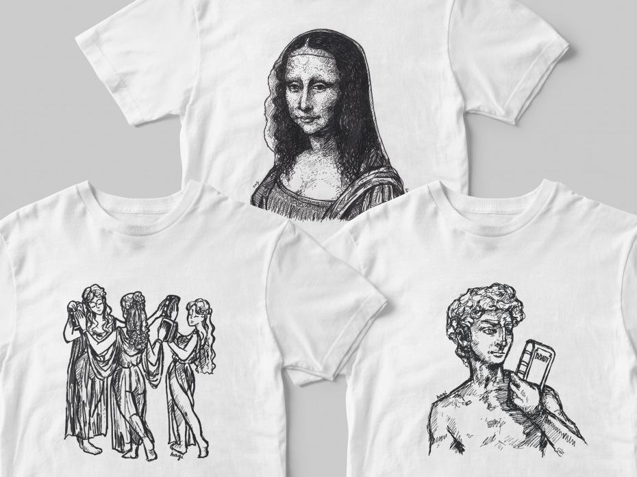 Projekty T-shirtów #1 1