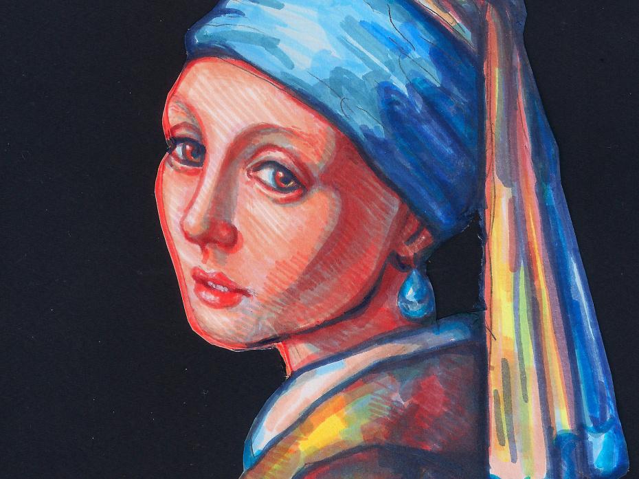 Dziewczyna z perłą - Ilustracja 1