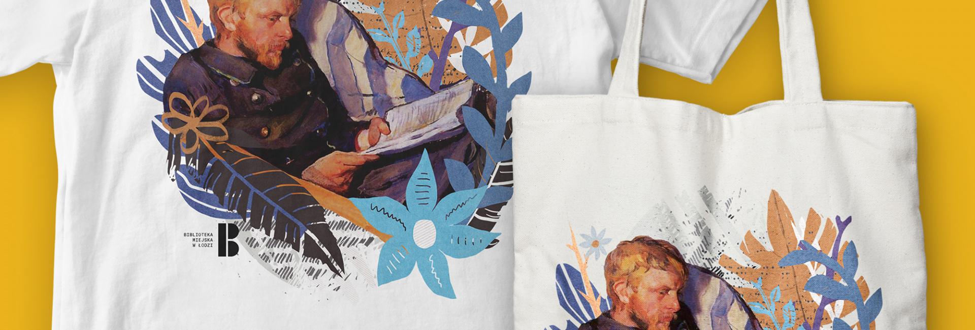 Czytający - Koszulki i torby