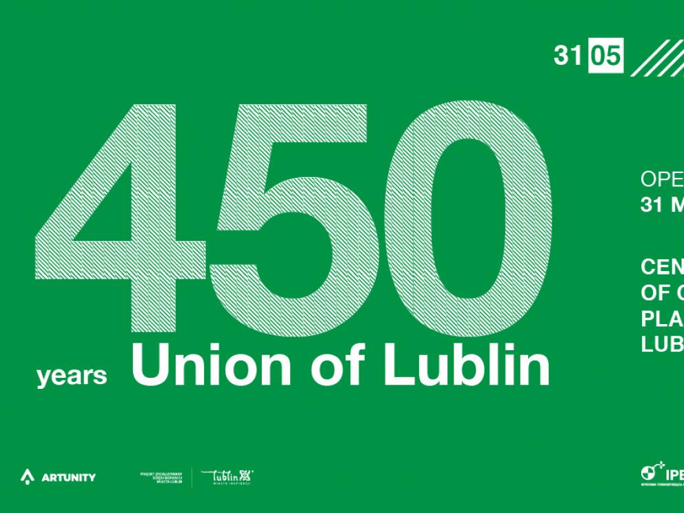 International Poster Biennale Lublin 2019 – 450 years Union of Lublin