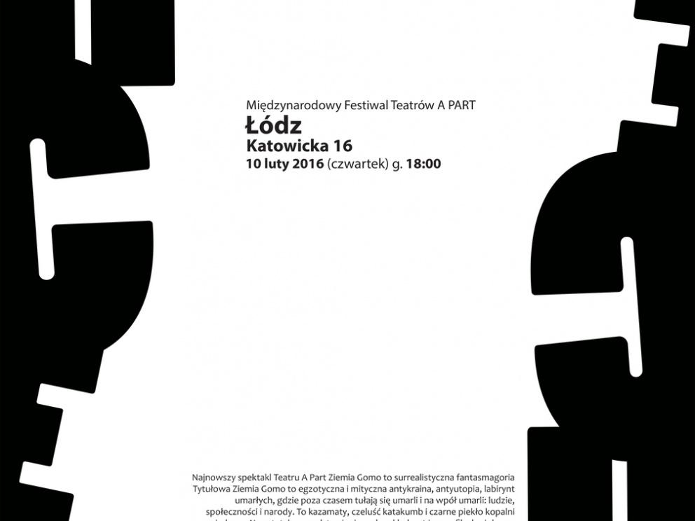afisz MIędzynarodowy Festiwal Teatrów APart