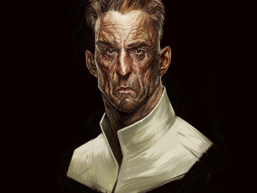 art ont charecter of the game (Dishonored)