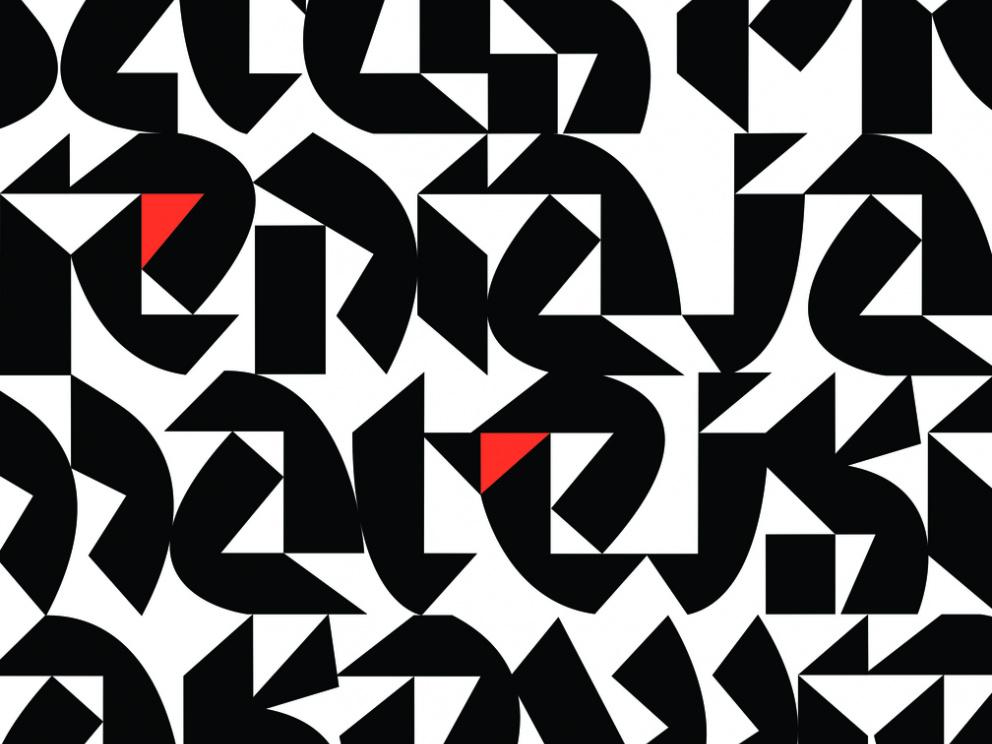 Triangle Font