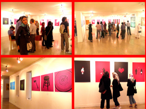"Conducting second ""PosNeg"" Group's Poster Exhibition, Tehran & Isfahan, 2006 7"