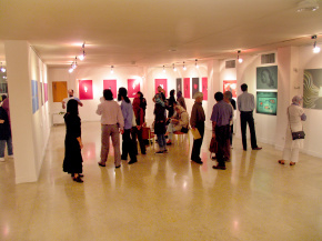"Conducting second ""PosNeg"" Group's Poster Exhibition, Tehran & Isfahan, 2006 15"