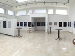 Onish Aminelahi solo poster exhibition 2