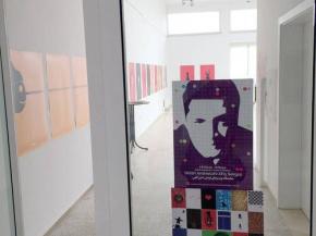 Onish Aminelahi solo poster exhibition 7