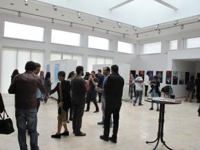 Onish Aminelahi solo poster exhibition 13