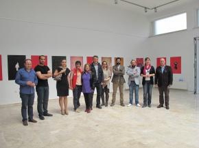 Onish Aminelahi solo poster exhibition 14
