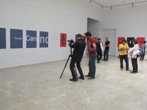 Onish Aminelahi solo poster exhibition 16