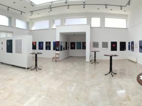 Onish Aminelahi solo poster exhibition 20