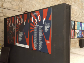 """POSTERS OF TROY"" , INTERNATIONAL INVITATIONAL POSTER EHXIBITION 15"