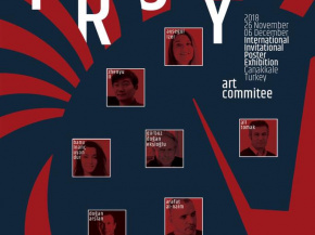 """POSTERS OF TROY"" , INTERNATIONAL INVITATIONAL POSTER EHXIBITION 17"