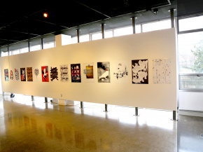 Persian Garden in USA - An exhibition of Iranian Posters & Onish Aminelahi 's Lecture at Michigan State University, USA 7