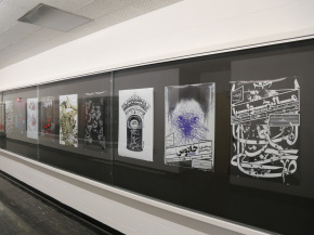 Persian Garden in USA - An exhibition of Iranian Posters & Onish Aminelahi 's Lecture at Michigan State University, USA 18