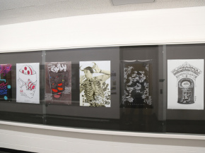 Persian Garden in USA - An exhibition of Iranian Posters & Onish Aminelahi 's Lecture at Michigan State University, USA 19