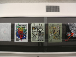 Persian Garden in USA - An exhibition of Iranian Posters & Onish Aminelahi 's Lecture at Michigan State University, USA 21