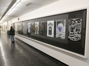 Persian Garden in USA - An exhibition of Iranian Posters & Onish Aminelahi 's Lecture at Michigan State University, USA 29