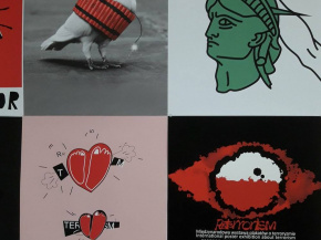 International Invitational Poster Exhibition - POSTERRORISM - Poland (Onish Aminelahi 's poster) 9