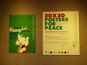 20*20 | Poster For Peace | Gardiner Gallery of Art, Oklahoma, USA | The Palace Prison 'Qasr' Gallery, Tehran, IRAN | 41