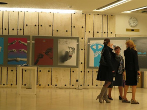 "Invitational Poster Exhibition:""Art for Peace Exhibition"" - The United Nations Office at Geneva 8"