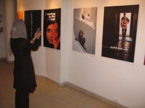 Onish Aminelahi's Solo Cinema poster exhibition in Tehran 5