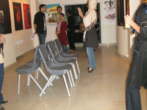 Onish Aminelahi's Solo Cinema poster exhibition in Tehran 7