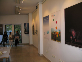 Onish Aminelahi's Solo Cinema poster exhibition in Tehran 8