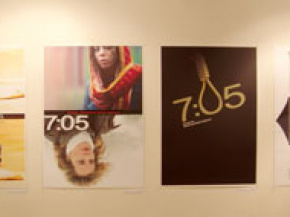 Onish Aminelahi's Solo Cinema poster exhibition in Tehran 20
