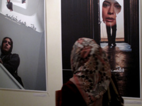 Onish Aminelahi's Solo Cinema poster exhibition in Tehran 21