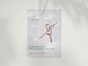 Plakat cyrkowy — Carnaval Sztukmistrzów 2