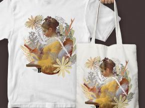 Czytający - Koszulki i torby 4