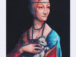 Dama z gronostajem - Ilustracja 4