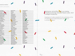 International Poster Biennale Lublin 2019 Catalogue 12