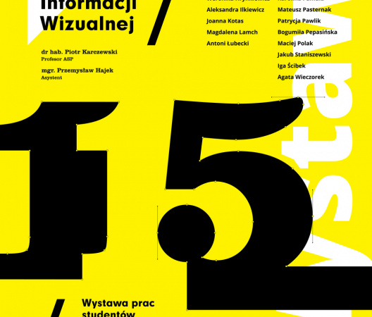 Student exhibition from 115 Studio (Graphic Design Department, Strzeminski Academy of Art in Lodz)
