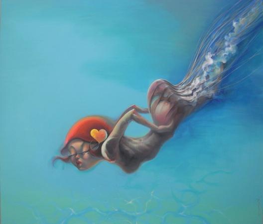 坏女孩-深海女神