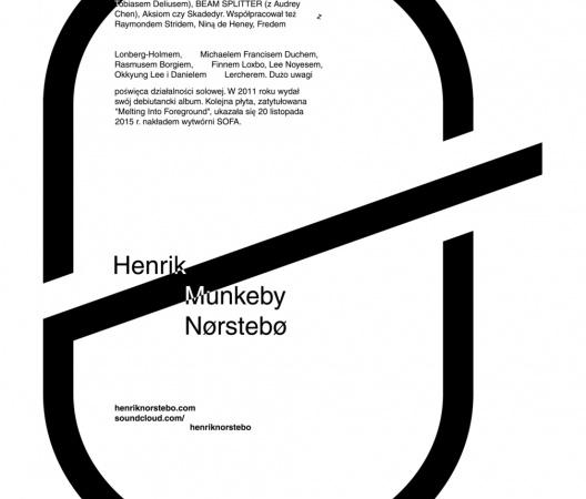 Henrik Munkeby Nørstebø. Gigposter