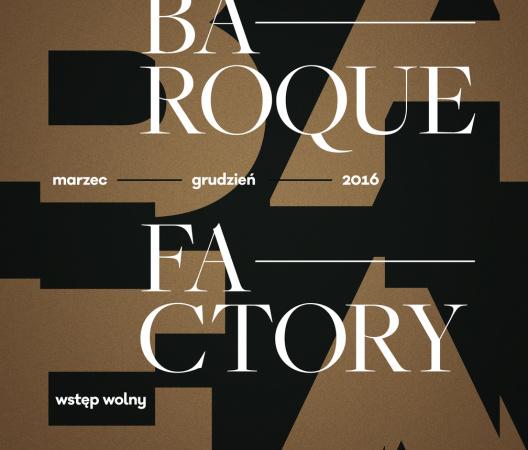 Baroque Factory Festival poster