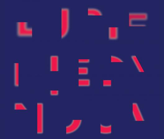 """plakat promujący festiwal Polikultura, hasło festiwalu """"Lubię, kiedy nocą..."""""""