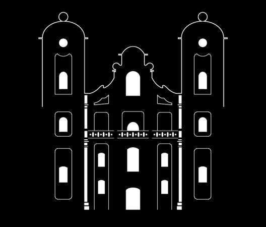 """Logotyp Architektura XVIII W. """"Kościół w Horodence"""""""