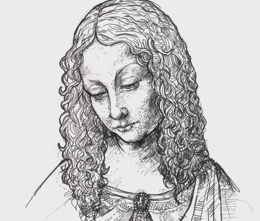 Twarze Leonardo da Vinci