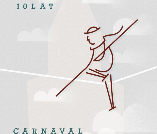 Plakat cyrkowy — Carnaval Sztukmistrzów