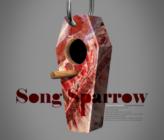 """Song Sparrow"" movie poster by: Onish Aminelahi"
