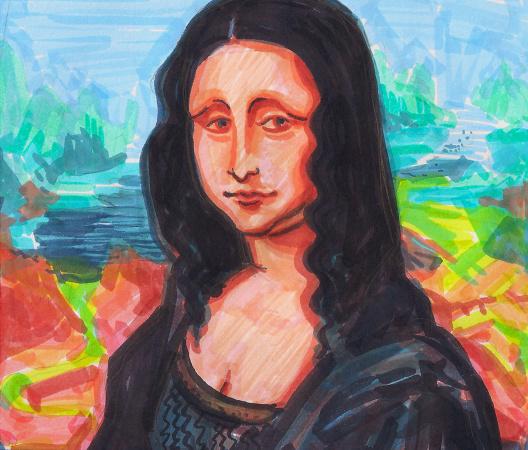 Mona Lisa - Ilustracja